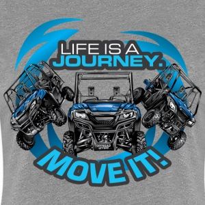 UTV SxS Move It Yamaha Women's T-Shirts - Women's Premium T-Shirt