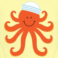 Design ~ Octopus Nautical Sailor Baby T-shirt