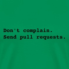 Send pull requests T-Shirts