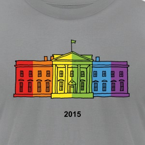 The Rainbow House 2015 - Men's T-Shirt by American Apparel