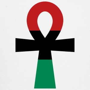 Red, Black & Green Ankh Caps - Trucker Cap