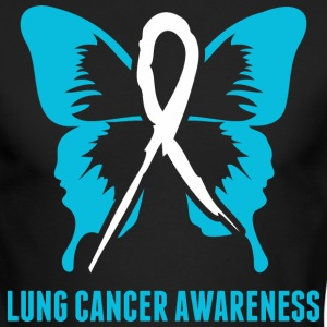 Lung Cancer Awareness - Men's Long Sleeve T-Shirt by Next Level