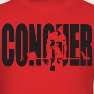 CONQUER - Franco Deadlift T-Shirts - Men's T-Shirt
