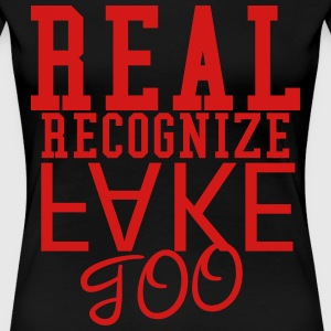 Real Recognize Fake T-Shirts - Women's Premium T-Shirt