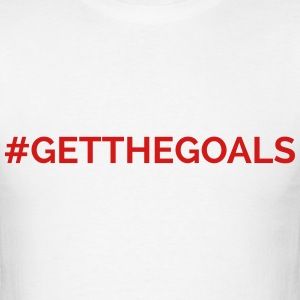 Hope Solo #GetTheGoals T-Shirts - Men's T-Shirt
