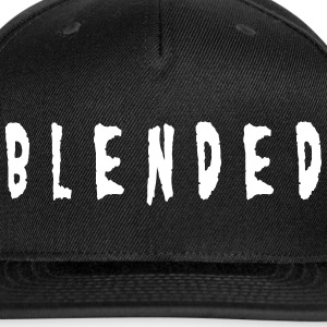 BLENDED by Non Niche in White - Snap-back Baseball Cap