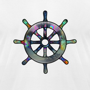 LSD Boat Wheel T-Shirts - Men's T-Shirt by American Apparel