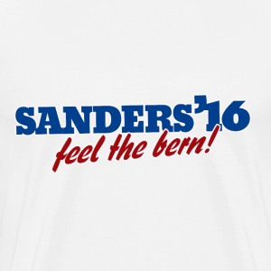 Sanders '16 Bernie for President 2016 - Men's Premium T-Shirt