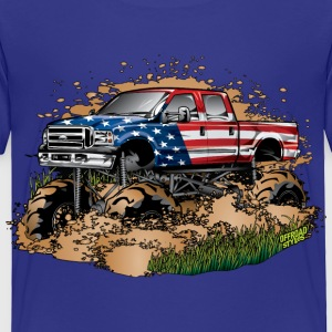 Mega Mud Truck USA Baby & Toddler Shirts - Toddler Premium T-Shirt