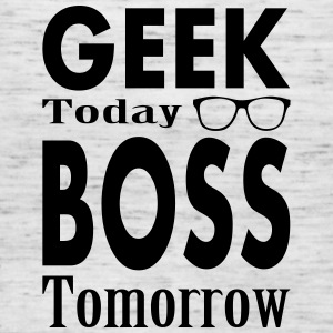 Geek Today Boss Tomorrow Tanks - Women's Flowy Tank Top by Bella