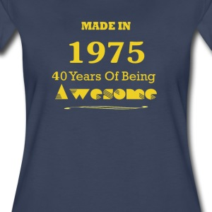 Made in 1975 - 40 Years of Being Awesome - Women's Premium T-Shirt