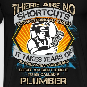 Plumber T-shirt - The title plumber - Men's Premium T-Shirt