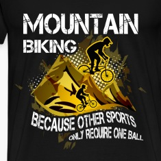 Mountain biking T-shirt - Mountain biking