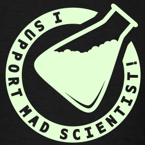 GitD Support Mad Scientist - Men's T-Shirt