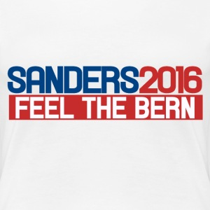 Bernie Sanders 2016 feel the bern  - Women's Premium T-Shirt