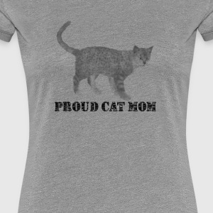 Proud cat mom - Women's Premium T-Shirt
