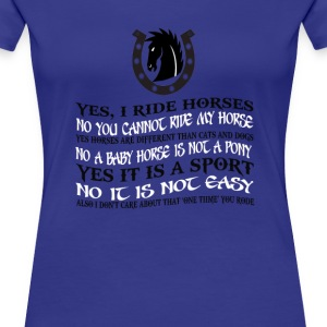 The Best Horse Ever! - Women's Premium T-Shirt