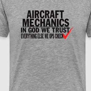 Aircraft Mechanics - Men's Premium T-Shirt