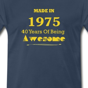 Made in 1965 - 50 Years of Being Awesome - Men's Premium T-Shirt
