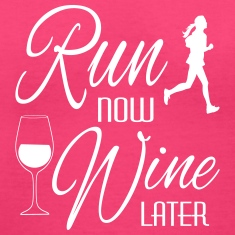 Run Now Wine Later Women's T-Shirts