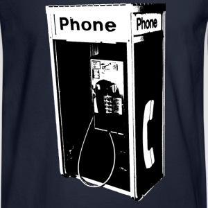 Men's Long Slee`ve Pay Phone T-Shirt - Men's Long Sleeve T-Shirt