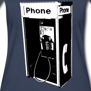 Women's Pay Phone Shirt - Women's Premium T-Shirt