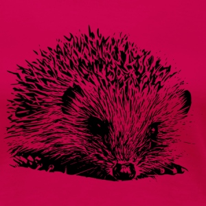 Hedgehog Ladies' Tee - Women's Premium T-Shirt