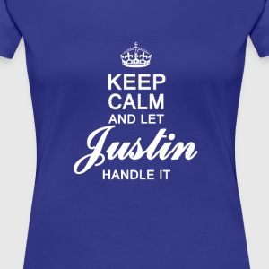 Let Justin handle it! - Women's Premium T-Shirt