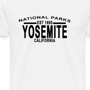 yosemite_national_park_california_tshirt - Men's Premium T-Shirt