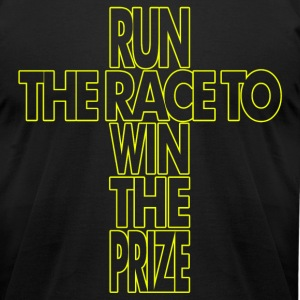 Run to Win - Men's T-Shirt by American Apparel