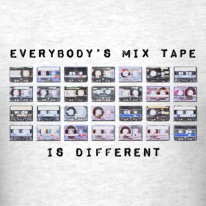 Everybodys Tape Different T-Shirts - Men's T-Shirt