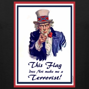 This FLAG...does NOT make me a Terrorist! Tank Tops - Men's Premium Tank
