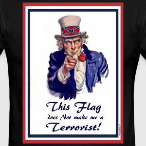 This FLAG...does NOT make me a Terrorist! T-Shirts - Men's Ringer T-Shirt