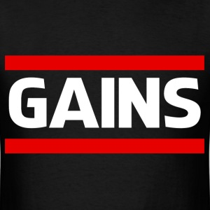 Gains - Men's T-Shirt