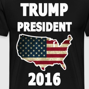 TRUMP PRESIDENT 2016 - Men's Premium T-Shirt