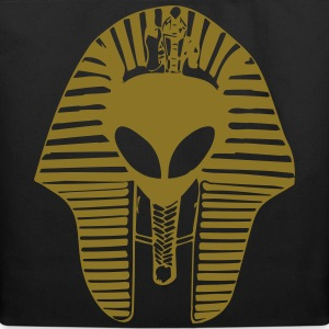 alien egyptian mask Bags & backpacks - Eco-Friendly Cotton Tote