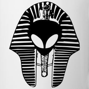 alien egyptian mask Mugs & Drinkware - Coffee/Tea Mug