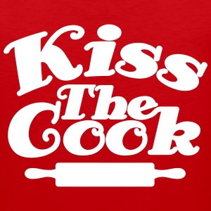 Kiss The Cook Tank Tops - Men's Premium Tank