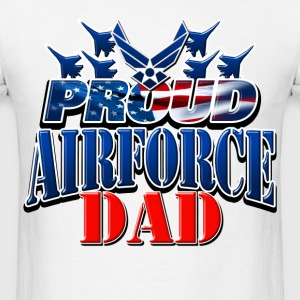 Proud Airforce Dad T-Shirts - Men's T-Shirt