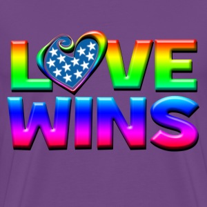 Love Wins Gay Marriage Equality T-Shirts - Men's Premium T-Shirt