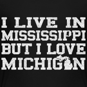 Live Mississippi Love Michigan Pride Baby & Toddler Shirts - Toddler Premium T-Shirt