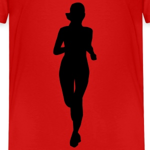 running woman Baby & Toddler Shirts - Toddler Premium T-Shirt