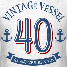 Nautical 40th Birthday T-Shirts