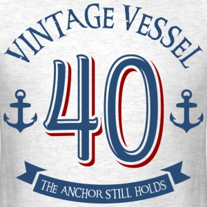 Nautical 40th Birthday T-Shirts - Men's T-Shirt