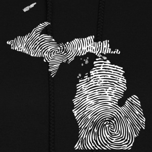 Cute Michigan Mitten Fingerprint Pride Hoodies - Women's Hoodie