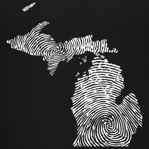 Cute Michigan Mitten Fingerprint Pride Baby & Toddler Shirts - Toddler Premium T-Shirt