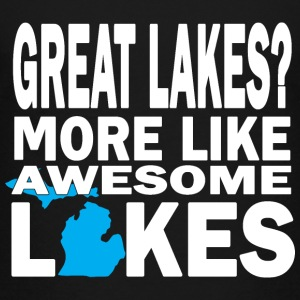 Great Lakes Awesome Lakes Michigan Kids' Shirts - Kids' Premium T-Shirt