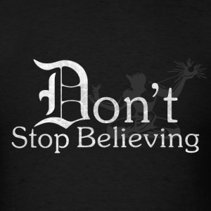 Detroit Old D Don't Stop Believing Spirit T-Shirts - Men's T-Shirt