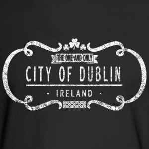 Classic One and Only Dublin Ireland Logo Long Sleeve Shirts - Men's Long Sleeve T-Shirt