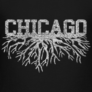 Chicago Rooted Raised Roots Kids' Shirts - Kids' Premium T-Shirt